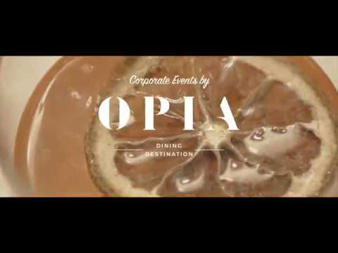 Opia Bali Dining | KLM Air France Event