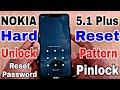 How to Unlock NOKIA 5.1 Plus | Unlock Pattern Nokia 5.1 Plus | HardReset Nokia 5.1 Plus | Pinlock