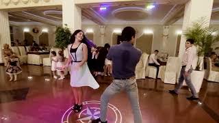 Зажигательные танцы на осетинской свадьбе  Владикавказ