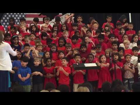 Shresth musical performance at Moorefield elementary school part7