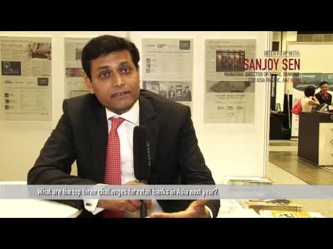 Future Bank Asia 2015 - Interview with Sanjoy Sen, ANZ BANK