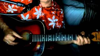 Blue Bayou Roy Orbison Linda Ronstadt Acoustic Cover w/ Framus Texan