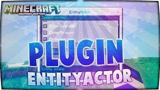 Gambar cover ☈ EntityActor Plugin for Minecraft PE ϟ PocketMine
