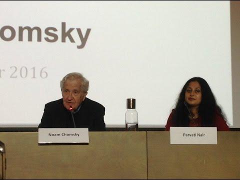 UNU-GCM – Graduate Masterclass with Professor Noam Chomsky – 7 November 2016