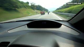 Yamaha R25 Top Speed Verified With Car Speedometer
