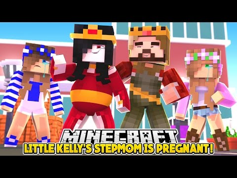 LITTLE KELLY'S STEPMOM IS PREGNANT!!! - Minecraft Little Club Adventures