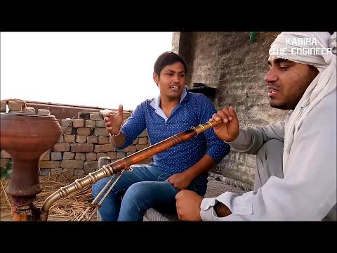 जाट ताऊ, हुक्का और खाट Jaat Tau ! hukka Haryanvi Desi Tau inspiring act by Kabira the engineer