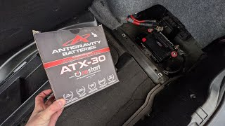 homepage tile video photo for Antigravity ATX30-RS Lithium-Ion Battery Installation In Our E46 M3