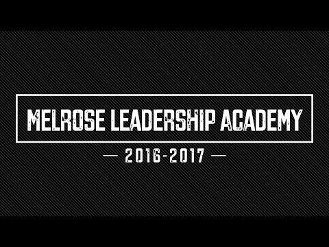 Melrose Leadership Academy, 2016-2017