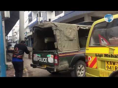 Covid-19: Businesses in Old Town, Mombasa remain closed as Police enforce lockdown