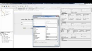 Criando Interface login  NetBeans 7.0