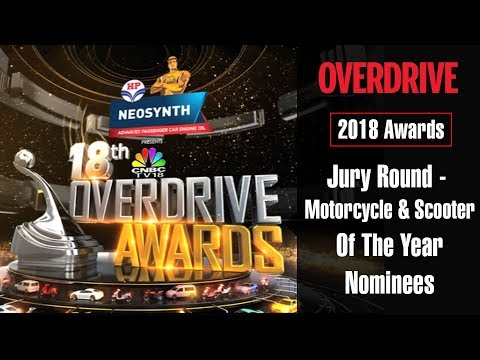 2018 OVERDRIVE Awards Jury Round - Motorcycle and Scooter of the Year Nominees | OVERDRIVE