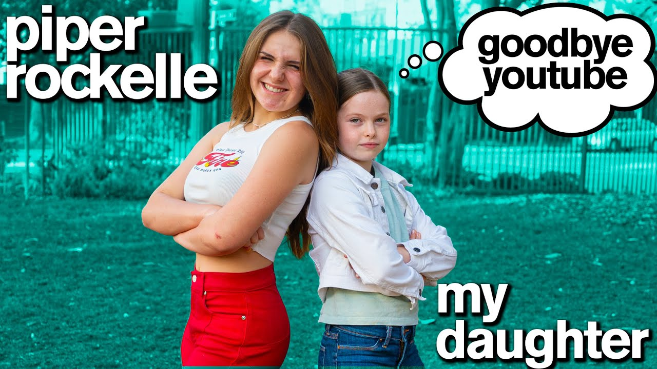 My Daughter Quits YouTube (Official Music Video) ft/ Piper Rockelle