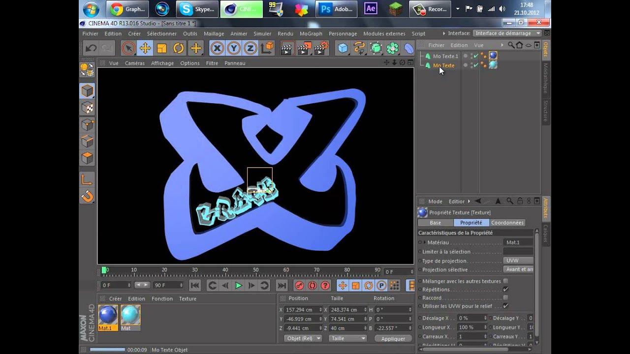 Extrem Tuto] Créer un logo pour sa chaîne Youtube simple [FR-HD] - YouTube DU84