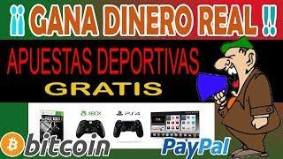 TRIUNFADOR APUESTAS GRATIS por DINERO REAL EN INTERNET y PREMIOS ¡TODOS LOS DÍAS!