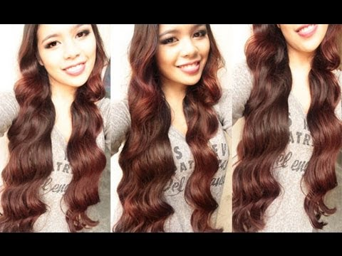 how to make curly hair wavy no heat