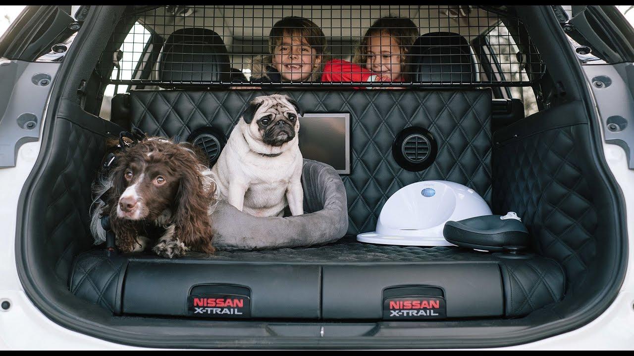 nissan x trail 4dogs l auto che fa felice tutta la famiglia compreso il nostro amico a 4 zampe. Black Bedroom Furniture Sets. Home Design Ideas