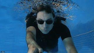 L'éclairage LED intex de la piscine, vu de l'intérieur !