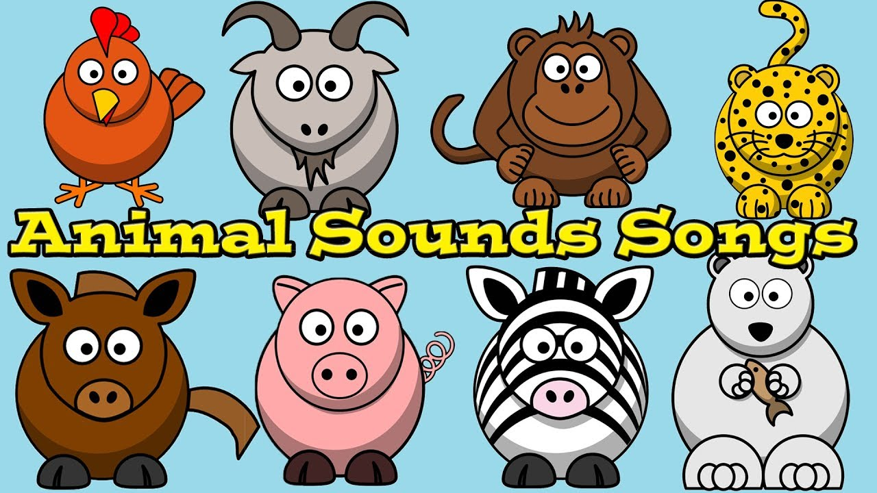 sounds animal songs children collection