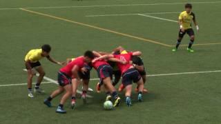 Asia Rugby U20 Sevens 2017  Mens Match 14 Thailand vs. Hong Kong