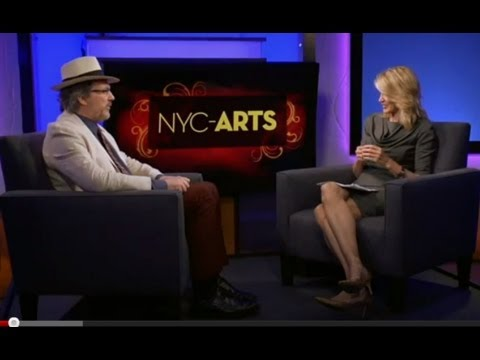 "Paula Zahn interviews Mark O'Connor about the ""O'Connor Method"" on WNET Thirteen - New York City"
