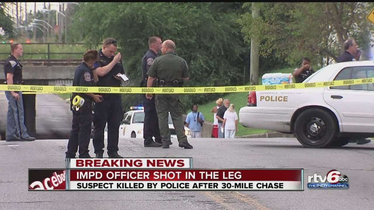 Indianapolis police fatally shoot man after a chase possibly ...