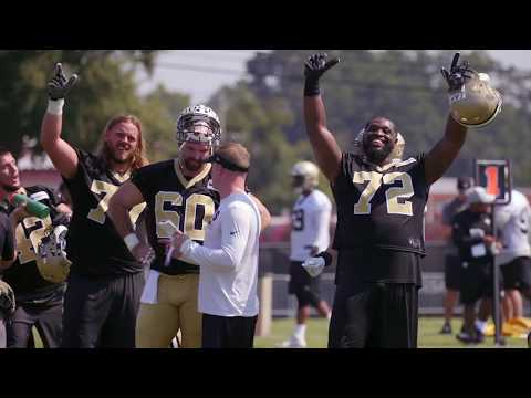 Saints training camp Day 1: Sights, sounds and lots of dancing