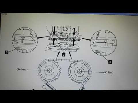 Mercedes Benz C180K Timing Chain Diagram Petrol