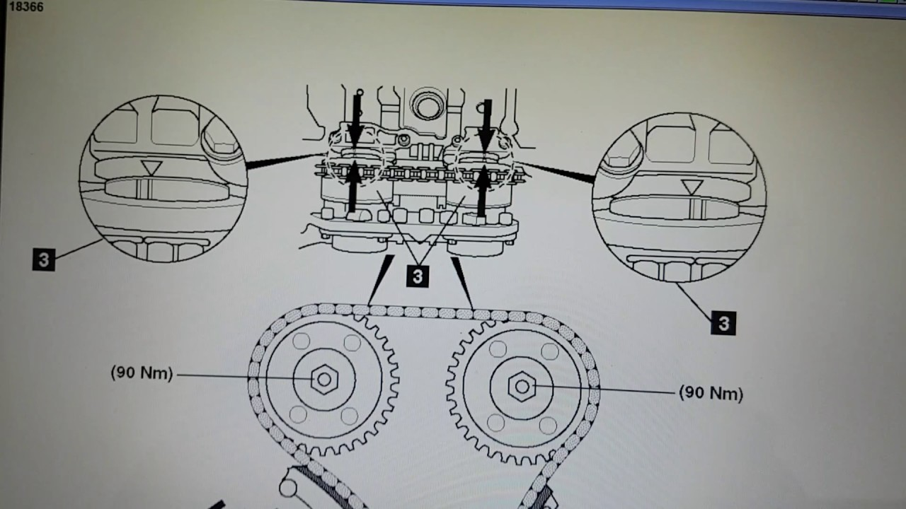 Mercedes Benz C180K Timing Chain Diagram Petrol  YouTube