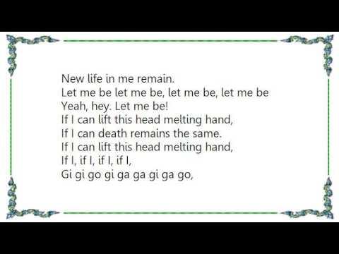 For Love Not Lisa - Slip Slide Melting Lyrics
