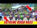 Seru, Persaingan Ketat Motor Jupiter Z Road Race Kejurprov Kaltim Putaran III