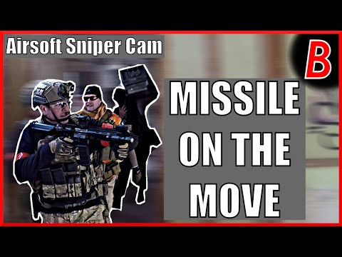 Airsoft Sniper Cam - MISSILE ON THE MOVE! | Bodgeups Airsoft