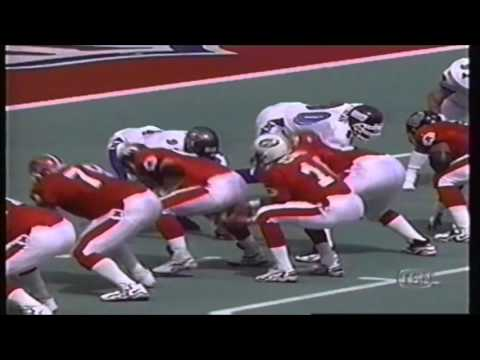 1999 NFL Pro Bowl   Footage From The 2nd Quarter
