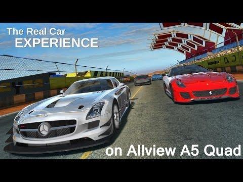 GT Racing 2 Si RoboCop Gameplay Pe Allview A5 Quad