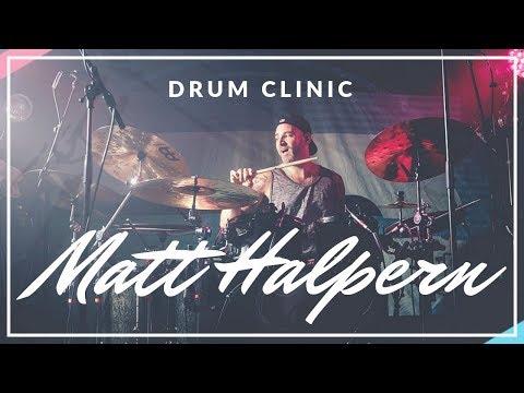 Periphery Drummer - Matt Halpern Drum Clinic - Frankfurt am Main 13.09.2016