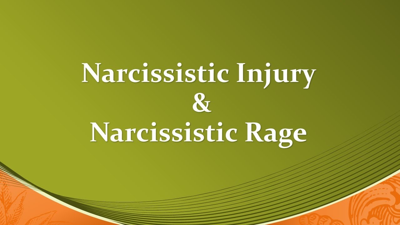 Narcissistic Injury & Narcissistic Rage Examples