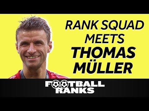 Thomas Müller Ranks Everything | B/R Football Ranks