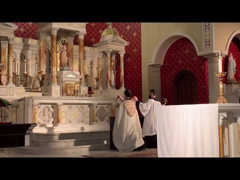 Chapel of Divine Mercy Benediction 3/20/20
