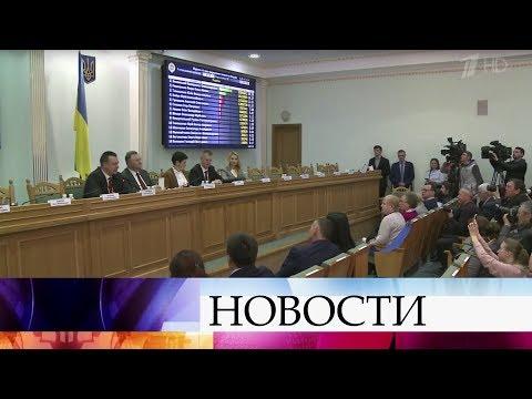 Владимир Зеленский и Петр Порошенко проходят во второй тур выборов на Украине.