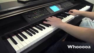 Break Your Heart - Taio Cruz (Piano Cover) with LYRICS!