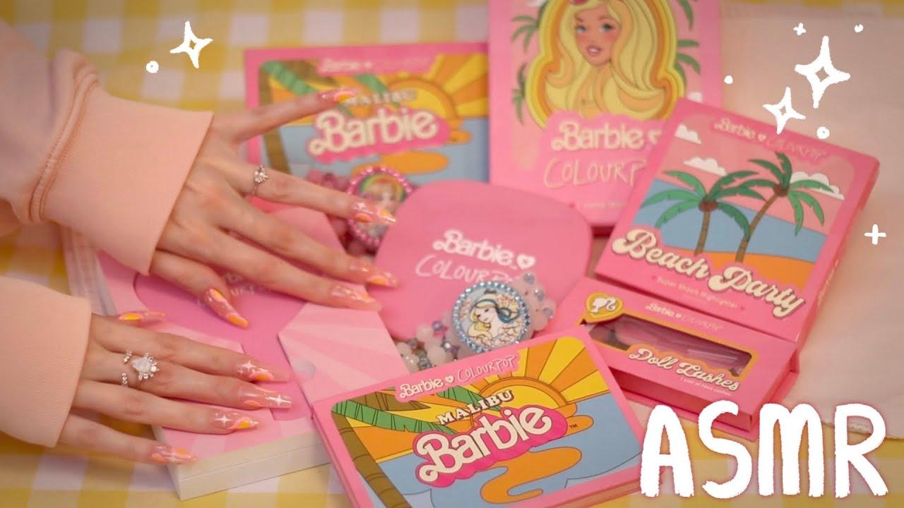 Download Barbie x Colourpop Unboxing (ASMR soft spoken)