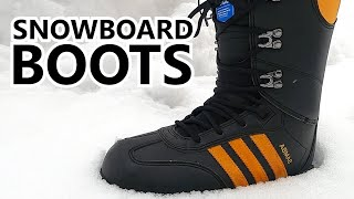 Switching Snowboard Boots - Vans VS Adidas