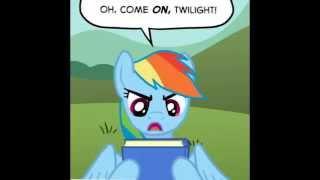 mlp comic dub flight school comedy