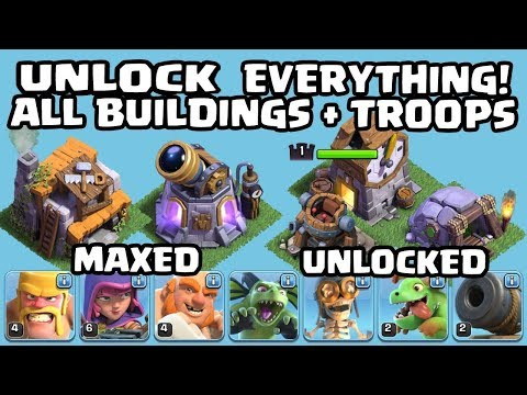 Thumbnail: BUYING All Buildings + Troops! Battle Machine, Gem Collector, Clock Tower & More! - Clash Of Clans