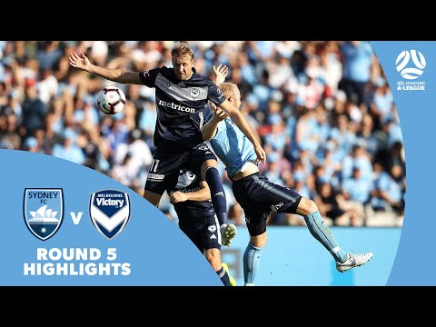 Hyundai A-League 2018/19 Round 5: Sydney FC 1 - 2 Melbourne Victory Highlights