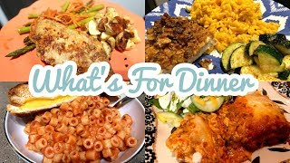 WHAT'S FOR DINNER || EASY AND CHEAP WINTER MEALS