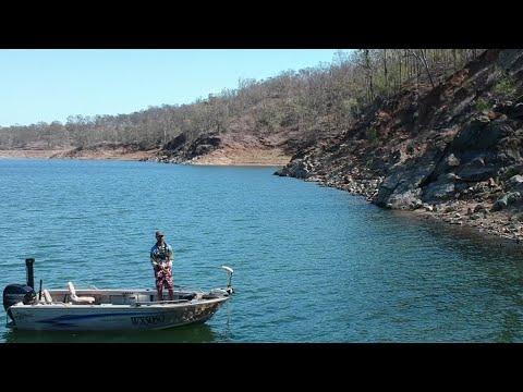 Australian Bass At Wivenhoe Dam
