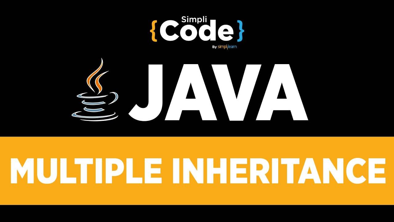 Java Tutorial For Beginners | Java Multiple Inheritance Program With Example