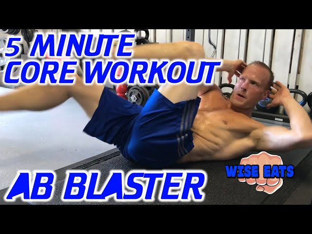 The Ab Blaster: 5-Minute Core Routine / Ab Workout / Kettlebell Core Workout / Five Minute Abs