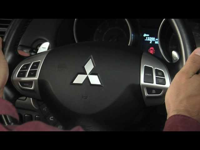 Mitsubishi How-To: Magnesium Alloy Paddle Shifters
